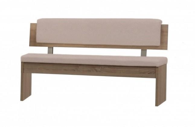 ANIZ - rovná lavice s opěradlem