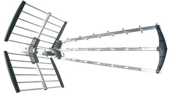 Anténa Solight venkovní DVB-T anténa, 39dB, UHF, 21. - 69. kanál (HN59)