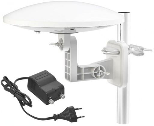 Antény EMOS EM-9016C TV anténa 0-80 km aktivní venkovní