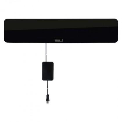 Antény EMOS EM-HDC3 TV anténa 0-25 km aktivní pokojová