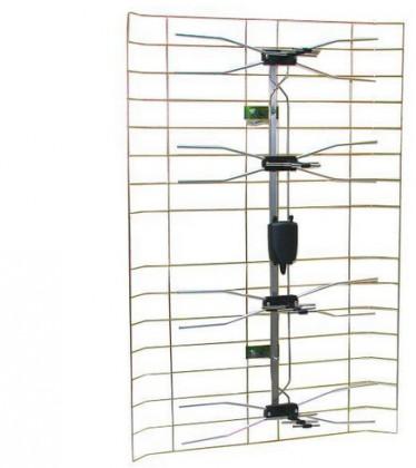 Antény Solight CX-4 TV anténa 35dBi aktivní venkovní