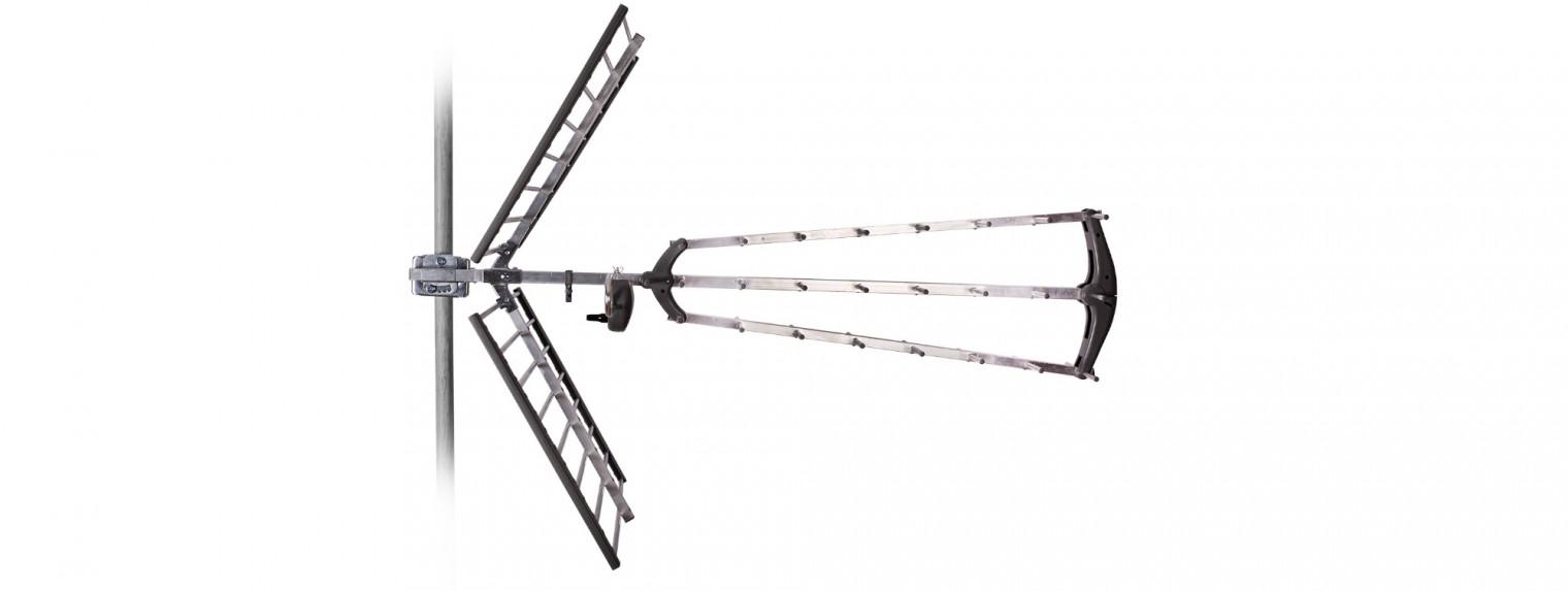 Antény Tesla TE-346 TV anténa 17dBi pasivní venkovní POUŽITÉ, NEOPOTŘEBE