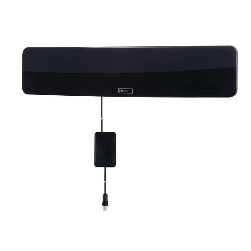 Antény TV anténa Emos EM-HDC3, aktivní, pokojová, 0-25km