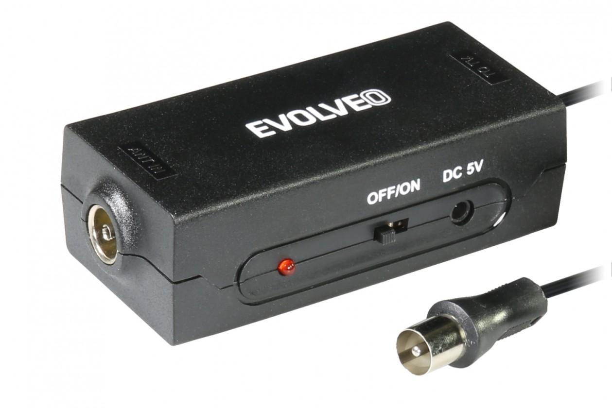 Antény TV anténní zesilovač Evolveo Amp 1 LTE, 20dBi