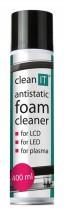 Antistatická čistící pěna na obrazovky CLEAN IT CL172, 400ml