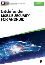 Antivir Bitdefender pro telefony a tablety s Android, roční lic.