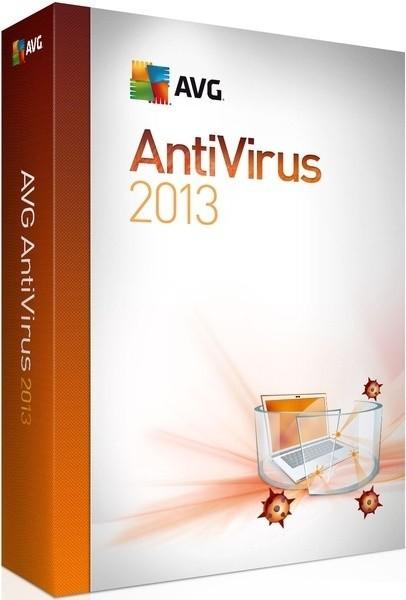 Antivirové programy AVG 2013, 1 lic. 12 měs.