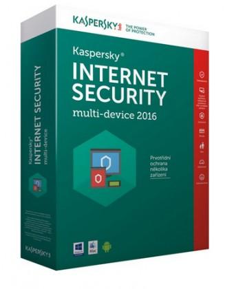 Antivirové programy Kaspersky Internet Security 2016 CZ (KL1941OBBFS-6MCZ)