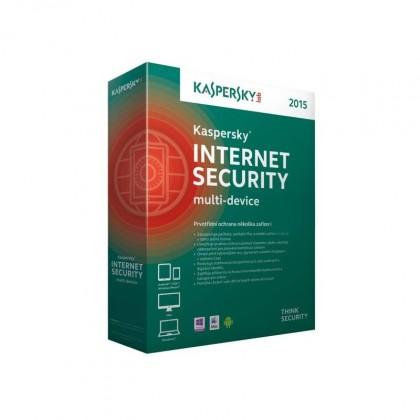 Antivirové programy Kaspersky Internet Security Multi-Device 2015 CZ, 1 PC 1 rok-Box