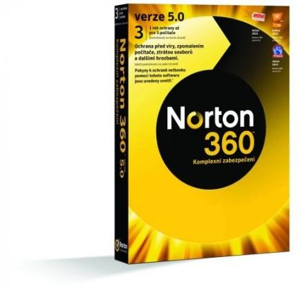Antivirové programy NORTON 360 7.0 CZ