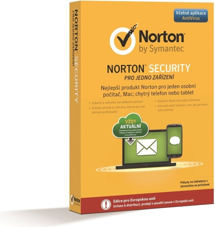Antivirové programy NORTON SECURITY 2.0 CZ (21333423)