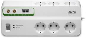 APC SurgeArrest Performance, 6 zásuvek + tel, koax. (PMH63VT-FR)