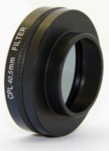 Apei Outdoor CPL Filter & Lens 40.5mm for GoPro 4/3+/3
