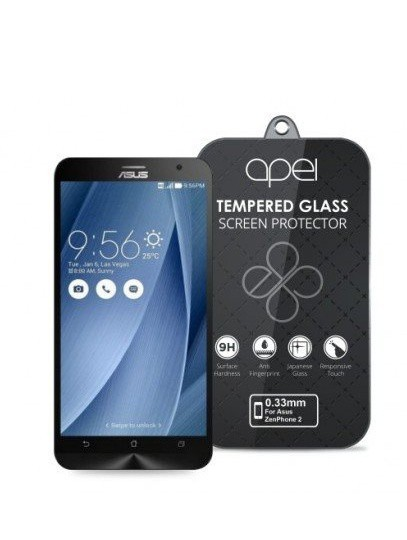 Apei Slim Round Glass Protector for Asus ZenFone 2 (0.3mm)
