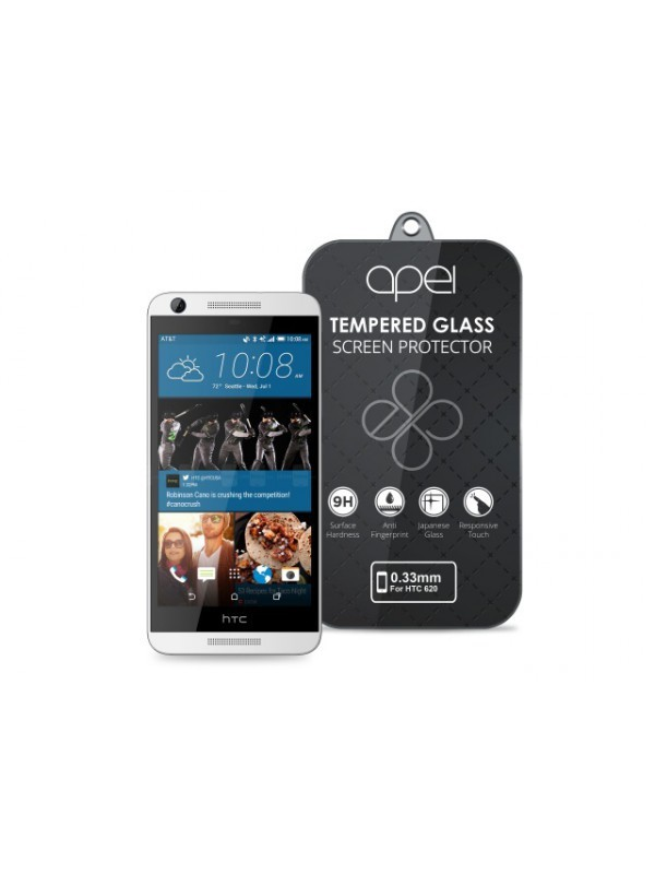 Apei Slim Round Glass Protector for HTC 620 (0.3mm)