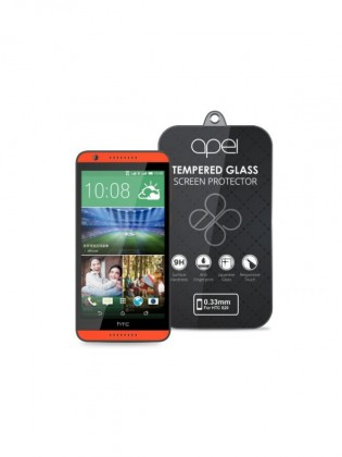 Apei Slim Round Glass Protector for HTC 820 (0.3mm)