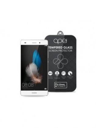Apei Slim Round Glass Protector for Huawei P8 (0.3mm)