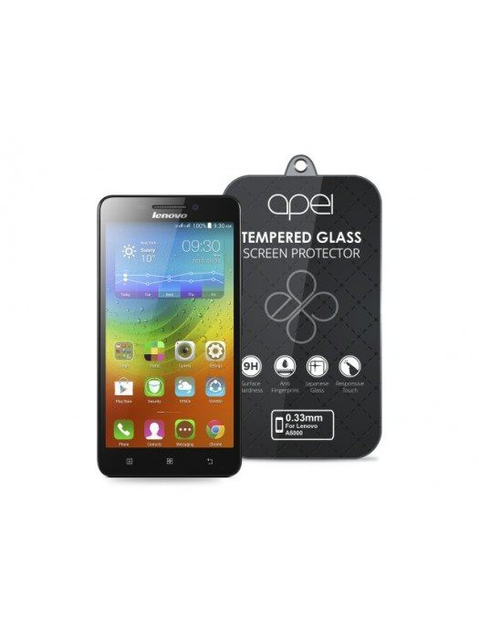 Apei Slim Round Glass Protector for Lenovo A5000(0.3mm)