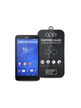 Apei Slim Round Glass Protector for Sony E4 (0.3mm)