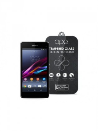 Apei Slim Round Glass Protector pro Sony Xperia Z1 Compact