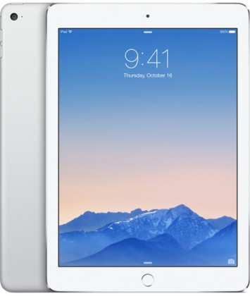 Apple iPad Air 2, 16 GB, Wi-Fi + LTE, stříbrný