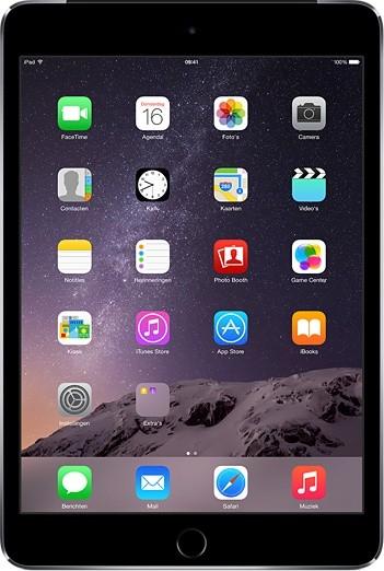 Apple iPad mini 3, 16 GB, Wi-Fi, šedý