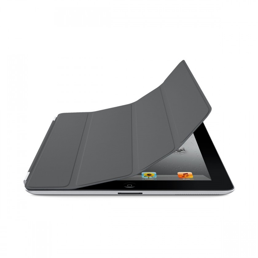 APPLE iPad Smart Cover - Polyurethane - Dark Gray