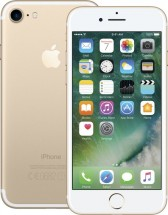 Apple iPhone 7 128GB, gold + držák do auta