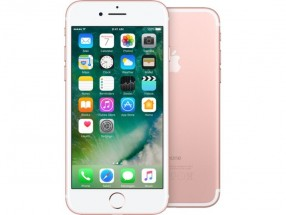 Apple iPhone 7 128GB, růžově zlatá + držák do auta