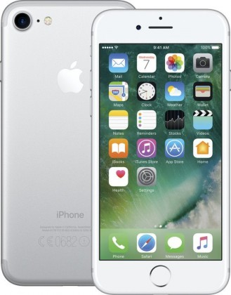 Apple iPhone 7 256GB, stříbrná