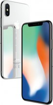 APPLE iPhone X 64GB Silver + držák do auta