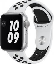 Apple Watch Nike S6 GPS, 40mm, stříbrná