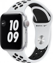 Apple Watch Nike S6 GPS, 40mm, stříbrná