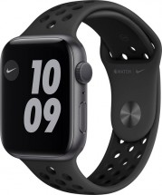 Apple Watch Nike S6 GPS, 44mm, šedá
