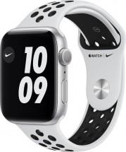 Apple Watch Nike S6 GPS, 44mm, stříbrná
