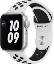 Apple Watch Nike SE GPS, 40mm, stříbrná