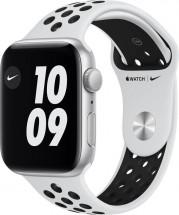 Apple Watch Nike SE GPS, 44mm, stříbrná