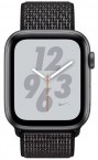 Apple Watch Nike+ Series 4 GPS, 44mm, šedá, provlékací řemínek