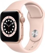 Apple Watch S6 GPS, 40mm, růžová