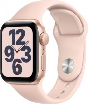 Apple Watch SE GPS, 40mm, růžová