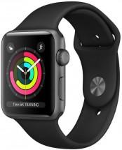 Apple Watch Series 3 GPS, 42mm, šedá, sportovní řemínek