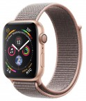 Apple Watch Series 4 GPS, 40mm, růžová, provlékací řemínek