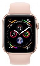 Apple Watch Series 4 GPS, 40mm, růžová, sportovní řemínek