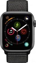 Apple Watch Series 4 GPS, 44mm, šedá, provlékací řemínek