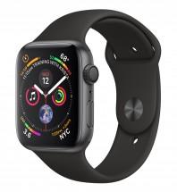 Apple Watch Series 4 GPS, 44mm, šedá, sportovní řemínek