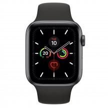 Apple Watch Series 5 GPS, 44mm, šedá, sportovní řemínek