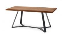 Archie L200 - Jídelní stůl (antracit, ořech)