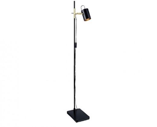 Arkitekt - Lampa podlahová (kov/kov/černá)