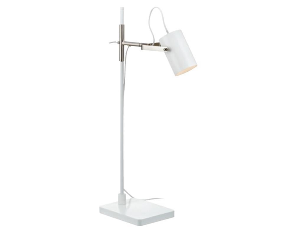 Arkitekt - Lampa stolní (kov/kov/bílá)