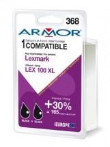 Armor náplň, Lexmark bi-pack (LEX100XL B) K10187R1